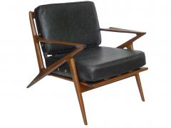 Poul Jensen Danish Modern Z Lounge Chairs by Poul Jensen - 1052208