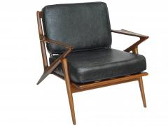 Poul Jensen Danish Modern Z Lounge Chairs by Poul Jensen - 1052213