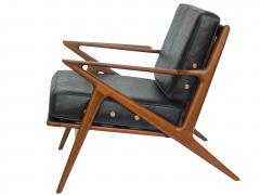 Poul Jensen Danish Modern Z Lounge Chairs by Poul Jensen - 1052215