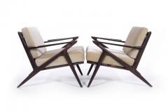 Poul Jensen Poul Jensen For Selig Z Lounge Chairs Denmark   317018