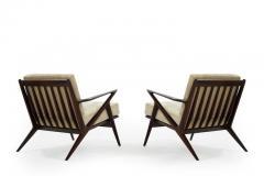 Poul Jensen Poul Jensen for Selig Z Lounge Chairs Denmark c 1950s - 1701428