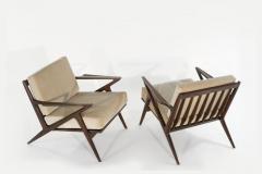 Poul Jensen Poul Jensen for Selig Z Lounge Chairs Denmark circa 1950s - 2066019