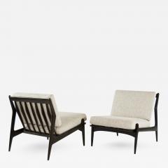 Poul Jensen Scandinavian Modern Lounge Chairs By Poul Jensen For Selig    264402