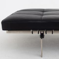 Poul Kj rholm PK 80 Daybed in Black Leather - 665617