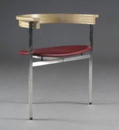Poul Kj rholm Poul Kjaerholm Set of Six Chairs Model PK11 - 883067