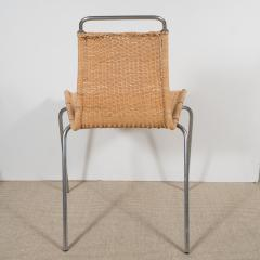 Poul Kj rholm Set of Four Poul Kjaerholm E Kold Christiansen PK1 Wicker Chairs - 201999
