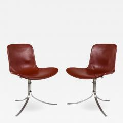 Poul Kjaerholdm PK 9 Side Chairs for E Kold Christensen - 1525660