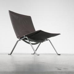 Poul Kjaerholm PK22 Lounge Chair by Poul Kjaerholm for E Kold Christensen Denmark 1960 - 967305