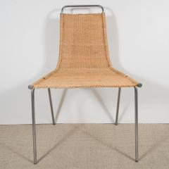 Poul Kjaerholm Set of 4 petite wicker chairs by Poul Kjaerholm model PK1 - 1466982