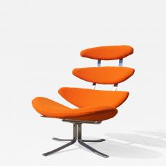 Poul M Volther Corona Chair Model EJ 5 by Poul M Volther for Erik J rgensen - 1167146
