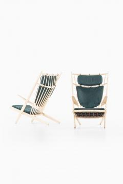 Poul Volther Easy Chairs Model Goliat Produced by Gemla - 1988319