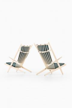 Poul Volther Easy Chairs Model Goliat Produced by Gemla - 1988323