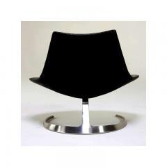 Preben Fabricius Pair of Rare Danish Scimitar Lounge Chairs - 109684