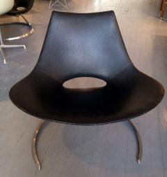 Preben Fabricius Pair of Rare Danish Scimitar Lounge Chairs - 109688