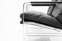 Preben Fabricius Set of Four Preben Fabricius Lounge Chairs in Black Leather by Walter Knoll 1972 - 456410