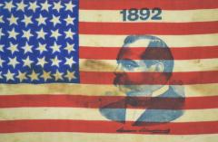 Presidential Campaign Flag with Image - 1977098