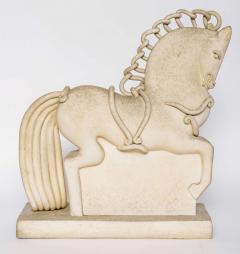 Primavera Atelier du Printemps Italian Ceramic Horse by Colette Guedin for Primavera - 390409