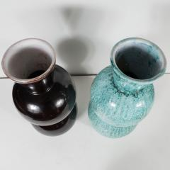 Primavera Atelier du Printemps Large Black and Blue Green Primavera vases - 1466940