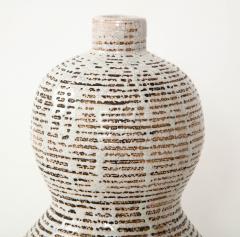 Primavera Atelier du Printemps Primavera gourd shape vase with horizontal lines - 1416117