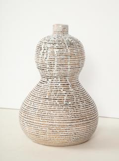 Primavera Atelier du Printemps Primavera gourd shape vase with horizontal lines - 1416119