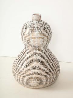 Primavera Atelier du Printemps Primavera gourd shape vase with horizontal lines - 1416122