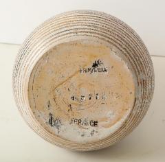 Primavera Atelier du Printemps Primavera gourd shape vase with horizontal lines - 1416124