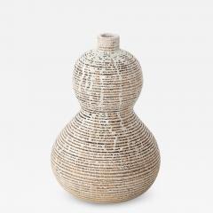 Primavera Atelier du Printemps Primavera gourd shape vase with horizontal lines - 1418466