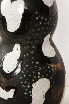 Primavera Atelier du Printemps Rare tall Primavera triple gourd vase by Claude Levy Model No 16019 - 1603646