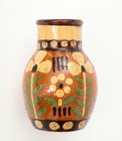 Primavera Atelier du Printemps Signed Primavera Ceramic Vase from Soufflenheim France  - 1224241