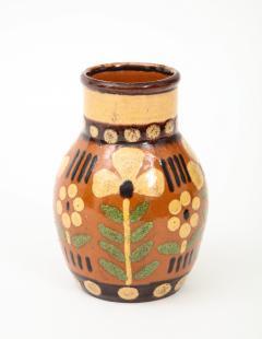 Primavera Atelier du Printemps Signed Primavera Ceramic Vase from Soufflenheim France  - 1224242