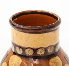 Primavera Atelier du Printemps Signed Primavera Ceramic Vase from Soufflenheim France  - 1224253