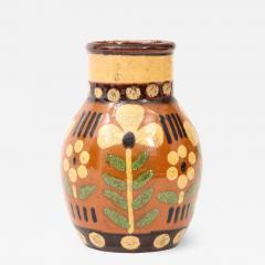 Primavera Atelier du Printemps Signed Primavera Ceramic Vase from Soufflenheim France  - 1225568