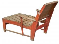 Primitive Painted Chaise - 1061197
