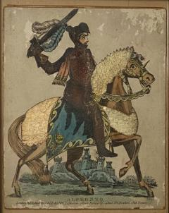Print of Knight on a Horse England Circa Early 19th Century - 1566390