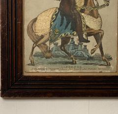 Print of Knight on a Horse England Circa Early 19th Century - 1566392