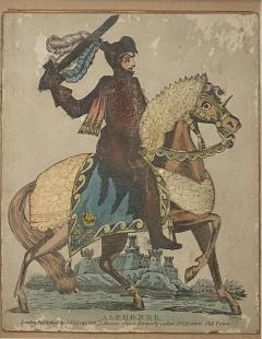 Print of Knight on a Horse England Circa Early 19th Century - 1568872