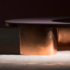 Privatiselectionem 1969 Copper and Resin Finish Low Table - 646354