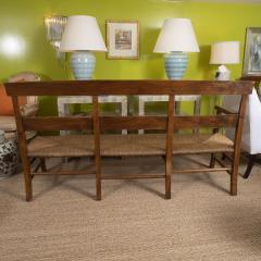 Provencal Bench with Woven Seat - 1100140
