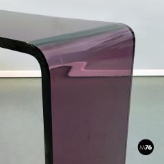 Purple lucite console 1970s - 2034808