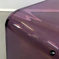 Purple lucite console 1970s - 2034818