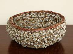 Pussy willow Basketweave Bowl - 1455483