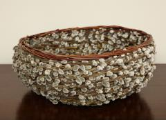 Pussy willow Basketweave Bowl - 1455484