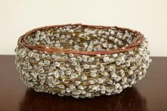 Pussy willow Basketweave Bowl - 1455485