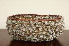 Pussy willow Basketweave Bowl - 1455486
