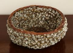 Pussy willow Basketweave Bowl - 1455490