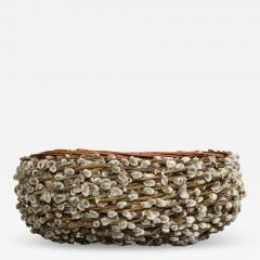 Pussy willow Basketweave Bowl - 1457385