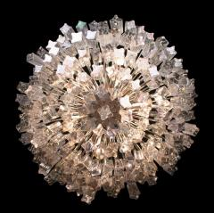 Pyramid Shaped Glass Rod Chandelier by Camer - 774780