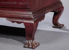 QUEEN ANNE CARVED SLANT FRONT DESK Probably Made by Ebenezer Hubbell - 1401091