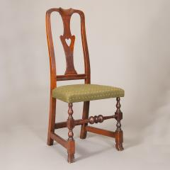 QUEEN ANNE SIDE CHAIR WITH HEART FORM SPLAT - 1130979