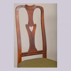 QUEEN ANNE SIDE CHAIR WITH HEART FORM SPLAT - 1130980